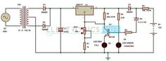 Автоматичне 12v Портативний зарядний пристрій ланцюга за допомогою LM317 Lead Acid Battery Charger, Battery Charger Circuit, Automatic Battery Charger, Solar Charger, Hobby Electronics, Electronics Projects, Bateria 12v, Power Supply Circuit, Simple Circuit