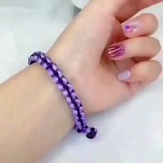 Diy Bracelets Patterns, Diy Friendship Bracelets Patterns, Diy Bracelets Easy, Braided Bracelets, Diy Crafts Hacks, Diy Crafts Jewelry, Bracelet Crafts, Handmade Jewelry, Bracelet Tutorial