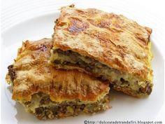Placinta cu carne si bere - imagine 1 mare New Recipes, Cooking Recipes, Recipies, My Favorite Food, Favorite Recipes, Hungarian Recipes, Hungarian Food, Romanian Recipes, Good Food