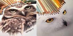 colored pencil drawings tumblr