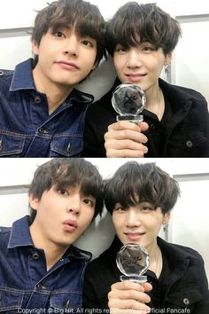 Taehyung and Suga Namjoon, Bts Taehyung, Bts Suga, Bts Bangtan Boy, Foto Bts, Bts Photo, Jung Hoseok, V Bts Cute, I Love Bts