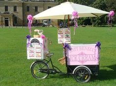 Ice Cream Bike Hire for Weddings & Parties