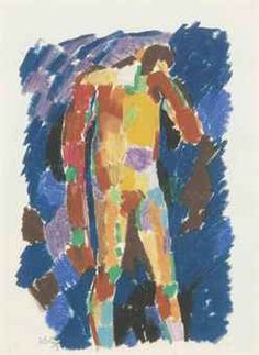 'Standing figure' (1959) by Keith Vaughan