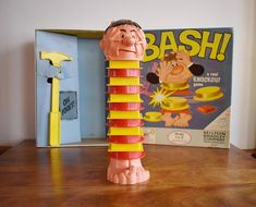 Bash Real Knockout Game 1965 Milton Bradley Co. 1960s