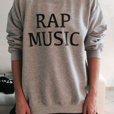 Rap music sweatshirt