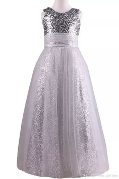 2017 Flower Girls Dresses Sequins Tulle Designer Jewel Ball Gown Floor Length Girls Pageant Dresses Kids Prom Dresses 2017 Flower Girls Dresses Floor Length Girls Pageant Dresses Kids Prom Dresses Online with $99.56/Piece on Honey_qiao_shop's Store   DHgate.com Girls Pageant Dresses, Prom Dresses 2017, Prom Dresses Online, Formal Dresses, Flower Girls, Flower Girl Dresses, Stylish Kids, Sequin Dress, Stylish Outfits