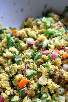 Eten maken: Wintercouscous met specerijen en groente