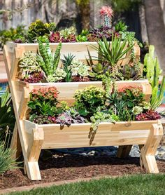 CedarCraft planters are made from 100% Rescued Western Red Cedar. The planters are made from rescued pieces of milled cedar and engineered into beautiful mosaic pattern panels that are sanded smooth on all four sides.
