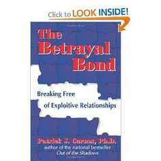 The Betrayal Bond.  If you've ever wondered why people stay in abusive or unhealthy relationships, this book explains it.  Fascinating.