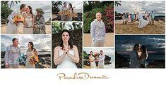 Maui Weddings, Maui Wedding Beach Location, The Cove, Secret Beach, Maui Bridal Updo, Maui Bridal Bouquet