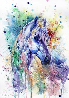 www.pegasebuzz.com | Equestrian illustration by Elena Shved