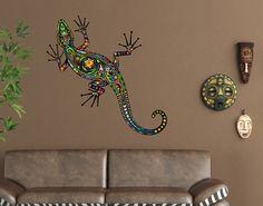 Great Wandtattoo Gecko No Geckomuster Wantattoo Wantatoo Wandsticker Wandaufkleber