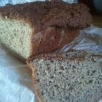 gluten free vegan bread for your bread machine.  Just sub Agave for Honey.  :)