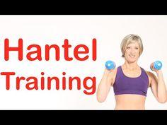 30 min. Hantel-Training mit Gabi Fastner - YouTube