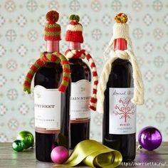 How to Wrap your bottles...Como envolver sus botellas.