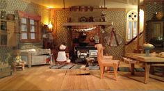 Moominhouse kitchen