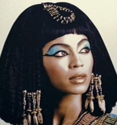 Beyoncé Knowles being Cleopatra in the 2006 film 'Dreamgirls.' Beyoncé's character Deena becomes a star and her career takes off. Soon she's been touted as the lead in a new Cleopatra movie.