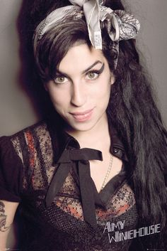 Amy Winehouse Portrait - Official Poster