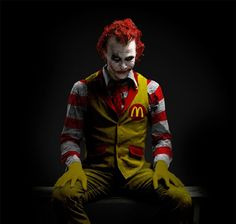 Will never look at Ronald the same again...