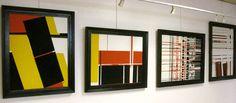 Windorf, Rétrospective à Bois-Colombe (2010) #art #modernart #painting #abstraction #pfgarcier
