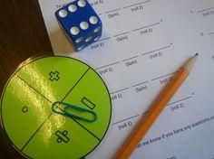 First day of school math activity for a math lab Math Resources, Math Activities, Math Games, Math Enrichment, Math Lab, Teaching Math, Maths, Teaching Ideas, Math Teacher