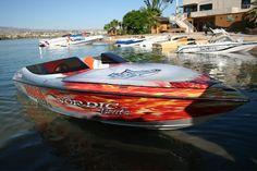 Our cool Nordic FRAM 22' Speed Boat  in Lake Havasu AZ Colorado River - single engine speed boat - HotBoat : Boats, Marine