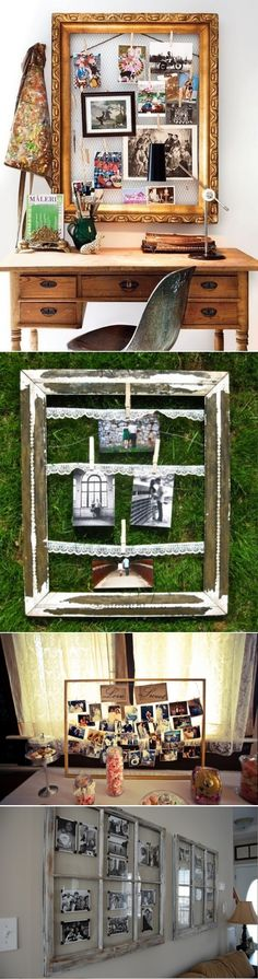 DIY Vintage Photo Display