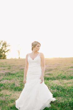 A Monique Lhuillier Ballgown Made This Bride A Real Life Princess