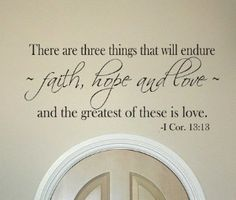 Love Quotes From the Bible | Bible love vinyl wall graffiti sign words lettering art | review ...