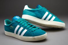 Outlet Adidas Originals Basket Profi Lo - St Deep Lake/White/Ecru,Hot style of trainers have good quality,What are you waiting?