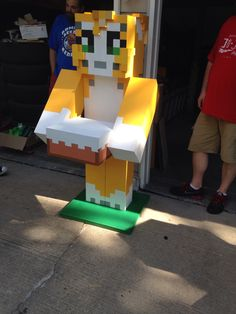 Life Size Stampy Cat