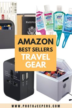 Amazon best seller lists take the hassle out of searching for the best travel gear. All the best suitcases, luggage tags, toiletry bags, packing cubes, cosmetic cases and more travel accessories in one spot to quickly research and review! #luggage #packing #amazon #travelgear #photojeepers Luggage Packing, Packing Tips For Travel, Travel List, Travel Essentials, Best Items On Amazon, Best Suitcases, Packing Cubes, Photography Gear, Cosmetic Case