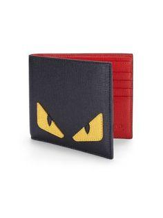 FENDI Simple Monster Wallet. #fendi #wallet