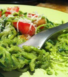 "Pesto with Zucchini ""Noodles"""