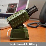 USB Rocket Launcher? No one would dare steal my stationary again!!!  This would be soooo much fun.