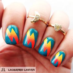 Lacquered Lawyer | Nail Art Blog: Grease Lightning
