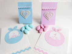 Porta confetti baby semplice