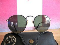 Vintage B Ray Ban Round Lennon 70s Sunglasses