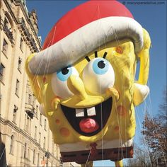 Spongebob Squarepants - Macy's Thanksgiving Day Parade 2014