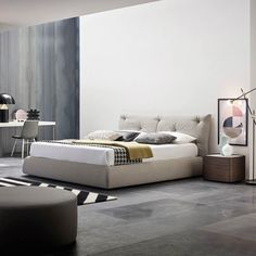 Risultati immagini per camere da letto con parquet scuro   camera da ...