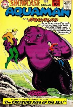 Showcase (1956-1978) #32 DC Comics Aquaman Aqualad cover