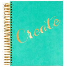 Eccolo 'Create' Sketchbook ($18) ❤ liked on Polyvore featuring home and home decor