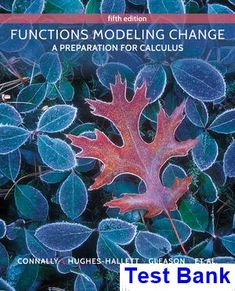 Information technology for management 10th edition solutions functions modeling change a preparation for calculus 5th edition connally test bank test bank fandeluxe Gallery
