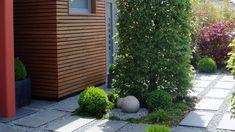 Stilsicher: Vorgarten für ein Reihenhaus | Baumann – Gärten und Freiräume