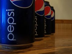 Pepsi Cans,