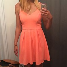 Coral Dress *Nwot