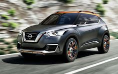 The 2017 Nissan Kicks is latest crossover offering from a Japanese company. It's mostly based on the old Nissan Kicks concept car we saw back Nissan Xterra, Nissan Juke, New Nissan, Bmw Suv, Audi Cars, Aix En Provence, Nissan Kicks, Shopping, Box