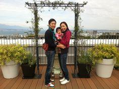 初めての琵琶湖。
