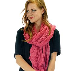 Solid Scarf Pink