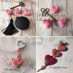 Irish Crochet Lab is a detailed online course of how to make Irish Crochet Lace. Irish Crochet, Crochet Lace, Heart Bubbles, Irish Lace, Learn To Crochet, Key Chain, How To Make, Pattern, Gifts